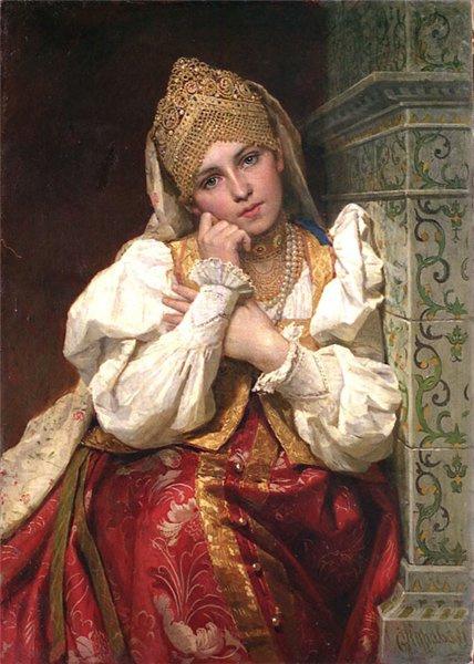 Firs Sergeevich Zhuravlev. The boyar's daughter