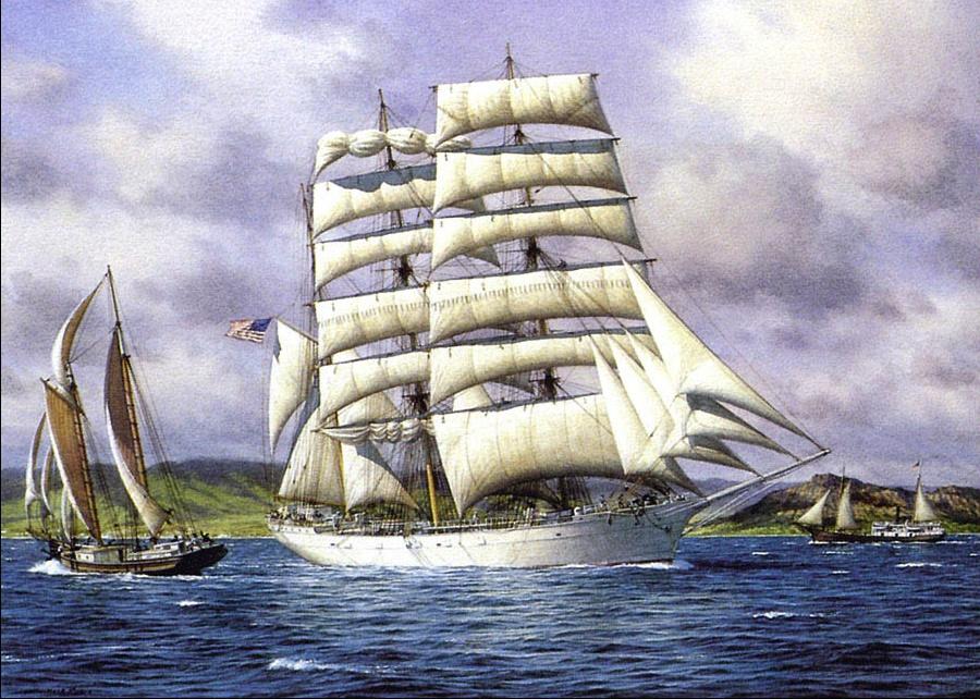 Марк Майерс. Парусное судно 11