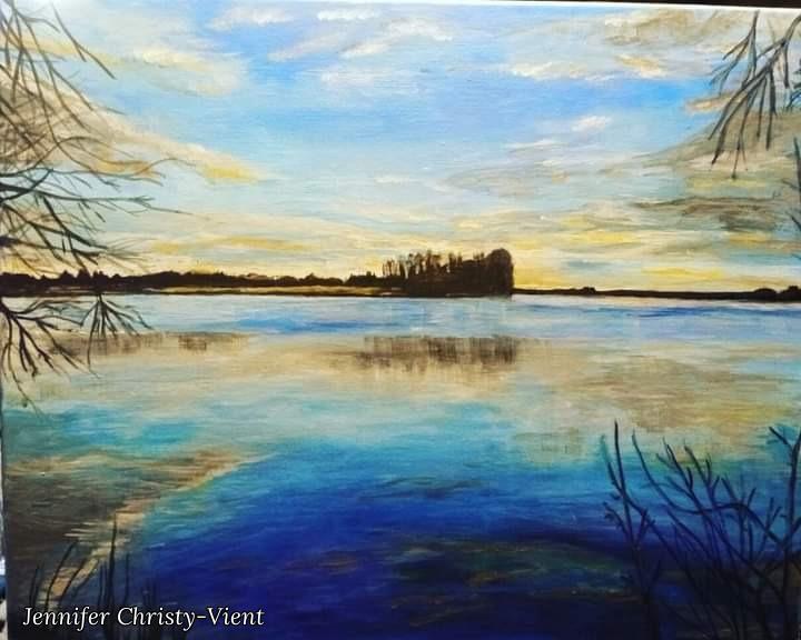 Jennifer Christy-Vient. River in Ukraine