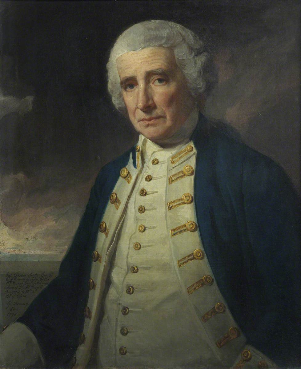 George Romney. Admiral John Forbes