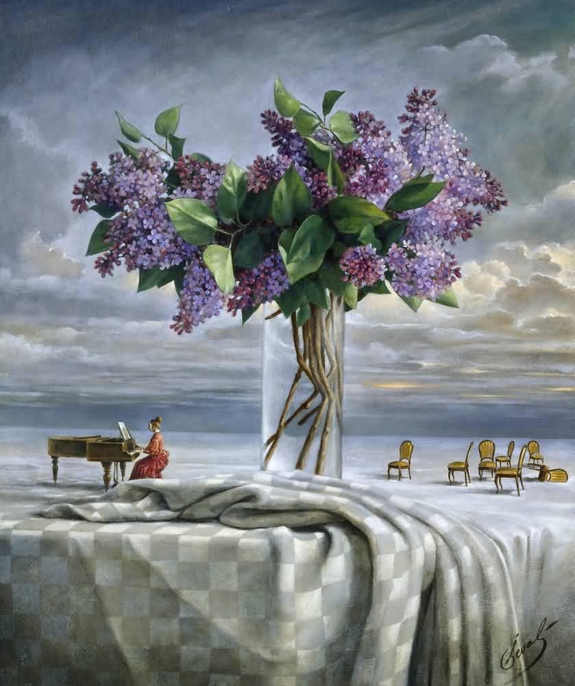 Михаил Хохлачев. Облако будущей весны