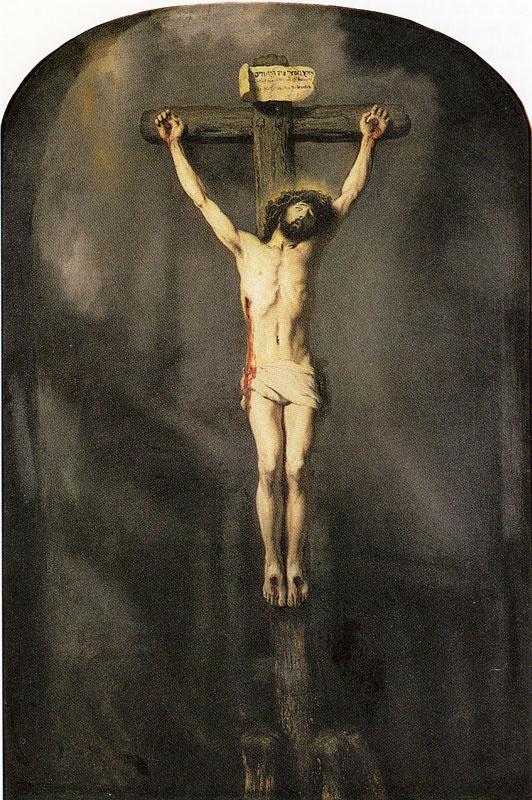 Jesus on the cross (Crucifixion of Christ)