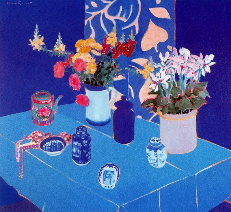 Уоррен Брандт. Синий стол