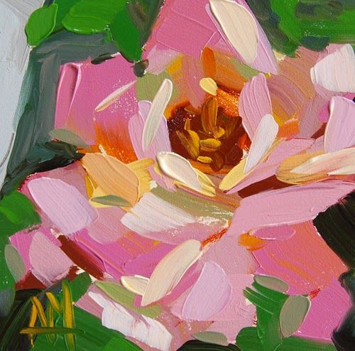 Angela Moulton. Pink rose