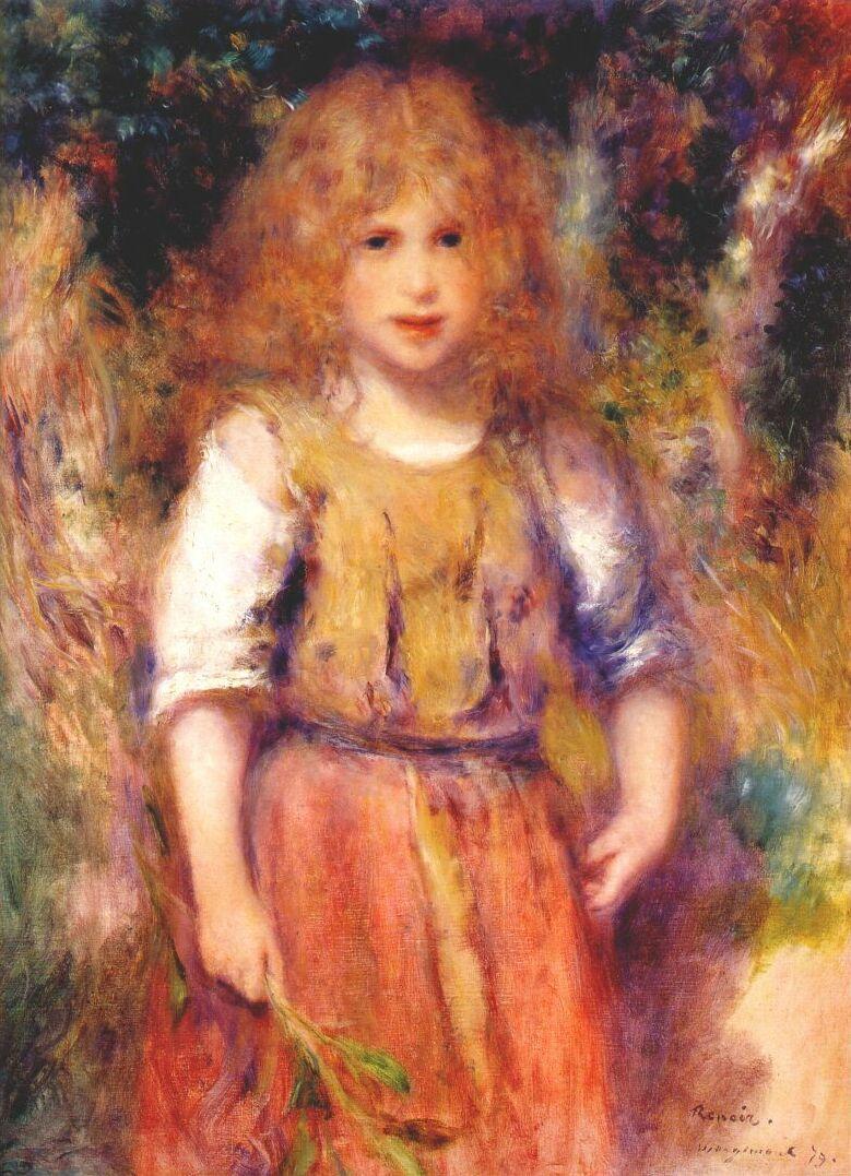 Pierre-Auguste Renoir. Gipsy