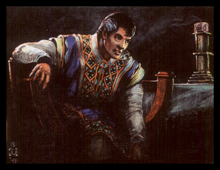 Давид Черри. Равин