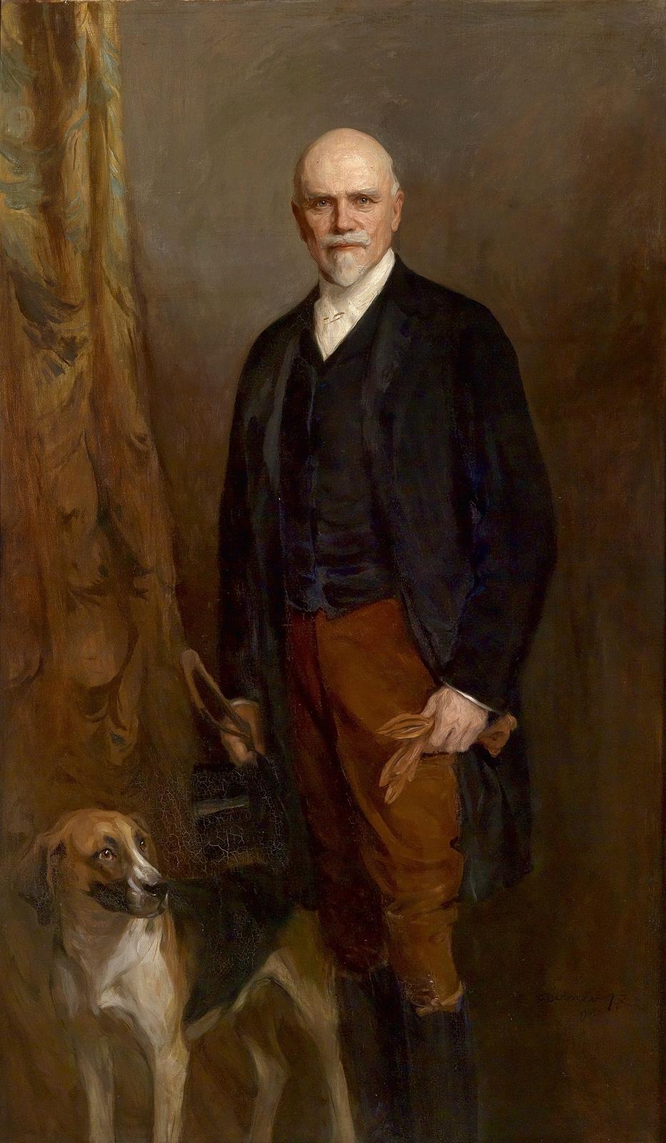 Филип Аликсис Де Ласло. Portrait of Heinrich Larish-Moenich. 1905