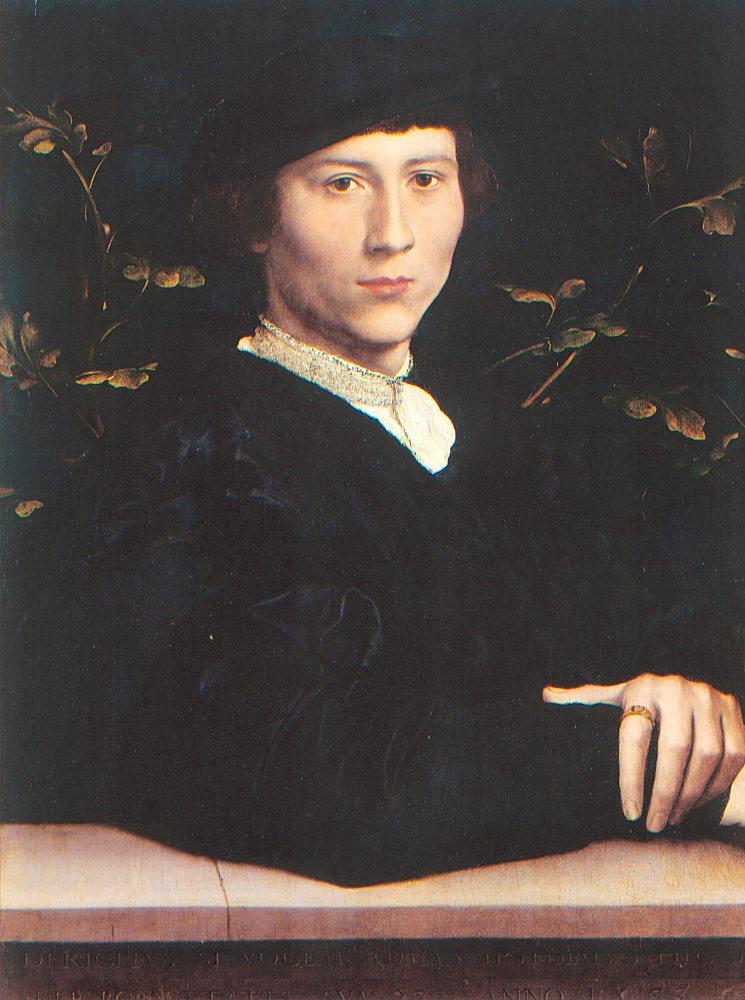 Ганс Гольбейн. Мужчина в черном