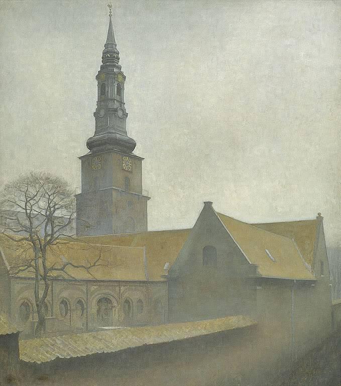 Вильгельм Хаммерсхёй. Церковь Святого Петра, Копенгаген