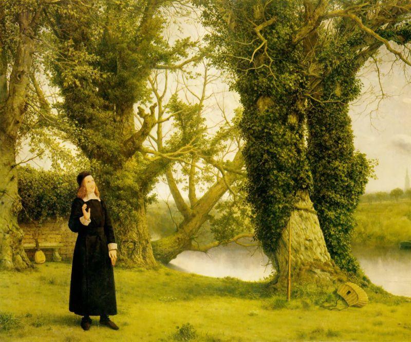 Уильям Дайс. Размышления у дерева