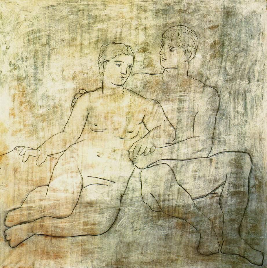 Пабло Пикассо. Идиллия