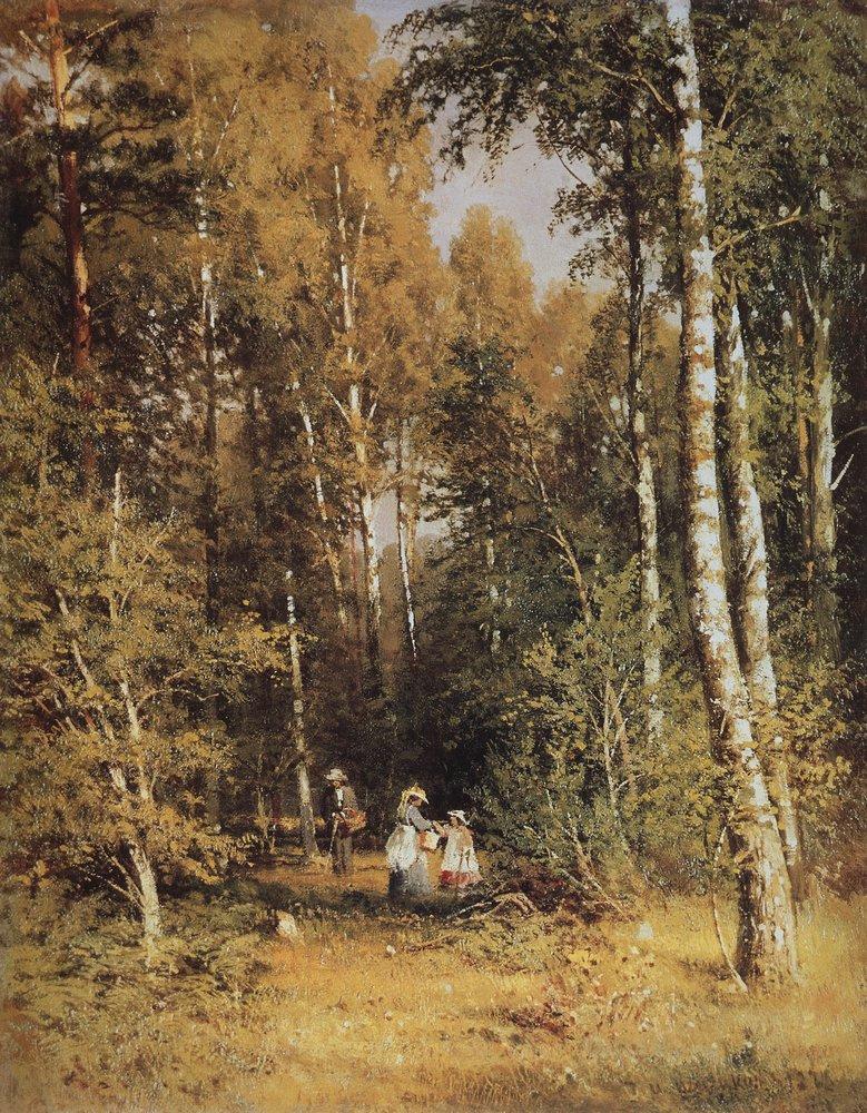Ivan Shishkin. Birch grove