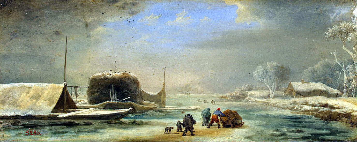 Ян Асселейн. Зима