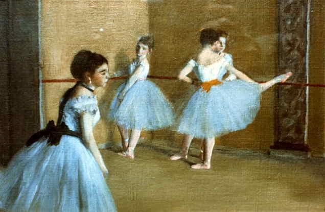 Эдгар Дега. Танцевальный класс в опере (фрагмент)
