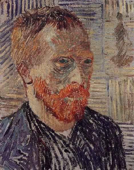 Винсент Ван Гог. Автопортрет с японским принтом