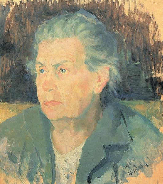 Kazimir Malevich. Portrait of a mother