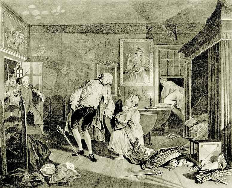 William Hogarth. Death count