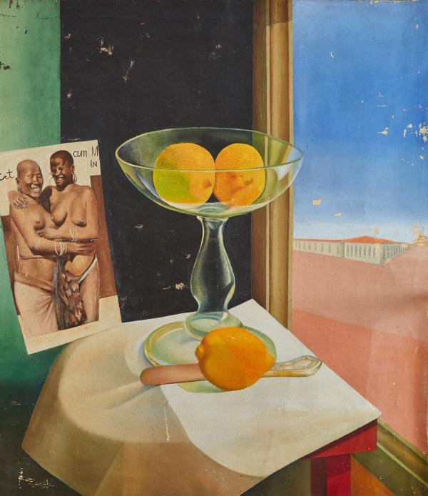 Дмитрий Павлович Крапивный. Still life with citrus