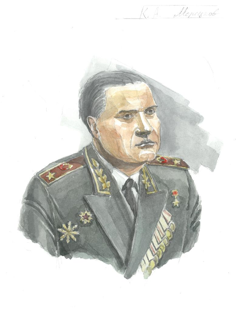 Viscount Efimof. Marshal Meretskov