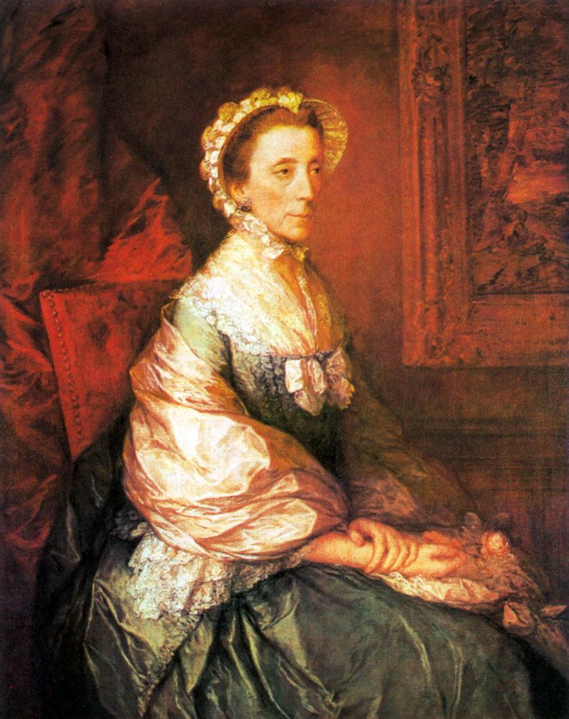 Томас Гейнсборо. Мария, герцогиня Монтегю