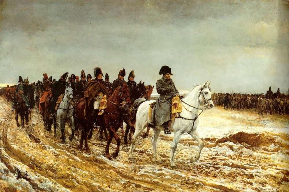Жан-Луи-Эрнест Месонье. Французская кампания