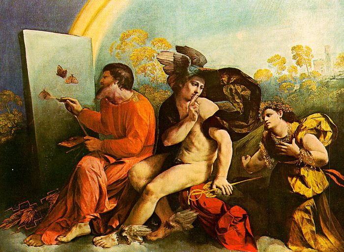 Dosso Dossi. Butterfly