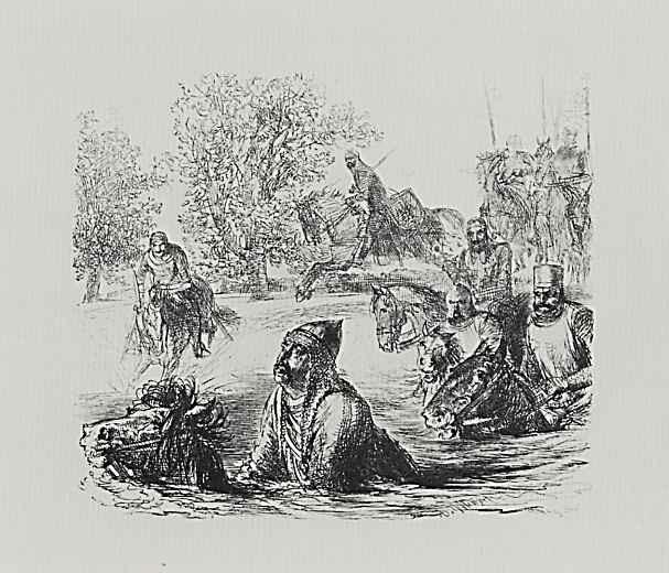 Адольф фон Менцель. Решающий момент в истории острова Потсдама