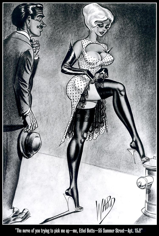 Femdom illustrations art