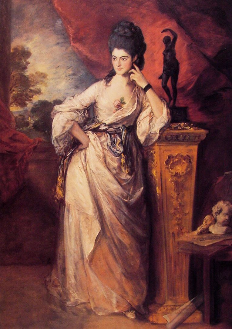 Thomas Gainsborough. Viscountess Ligonier