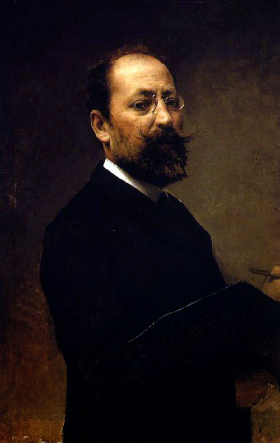 José María Fenollera and Ibañez. Self Portrait