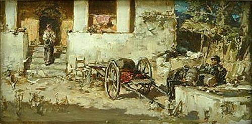 Вильгельм Александрович Котарбинский. Сцена из римской жизни