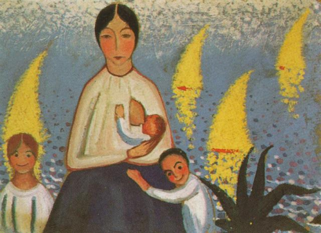 Salvador Dali. Motherhood