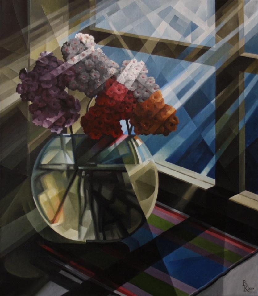 Vasily Krotkov. The full-moon bouquet