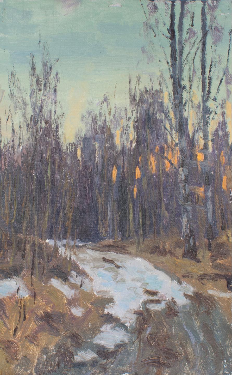 Igor Igorevich Krieger. The Last Snow