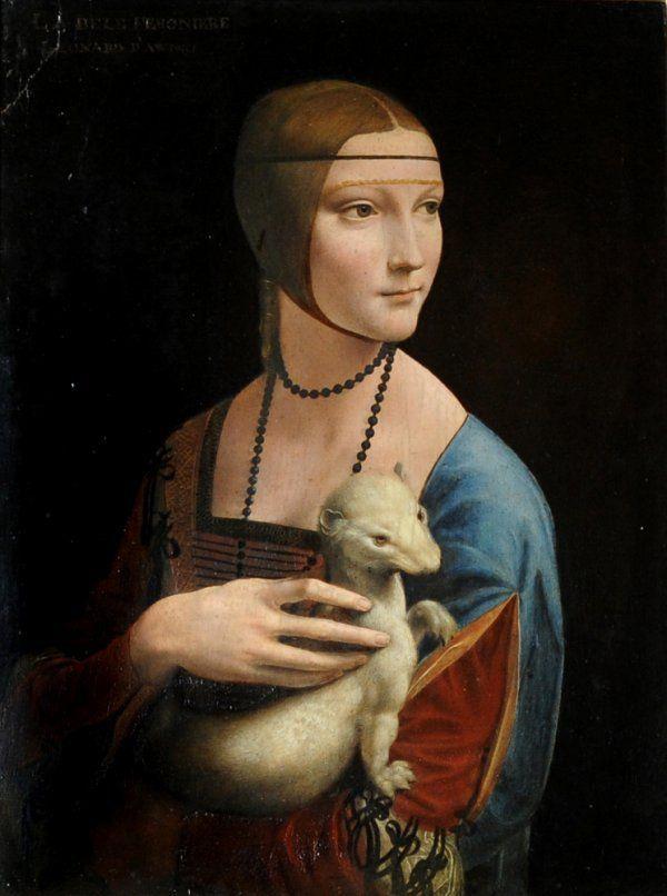 Lady with an ermine. Cecilia Gallerani