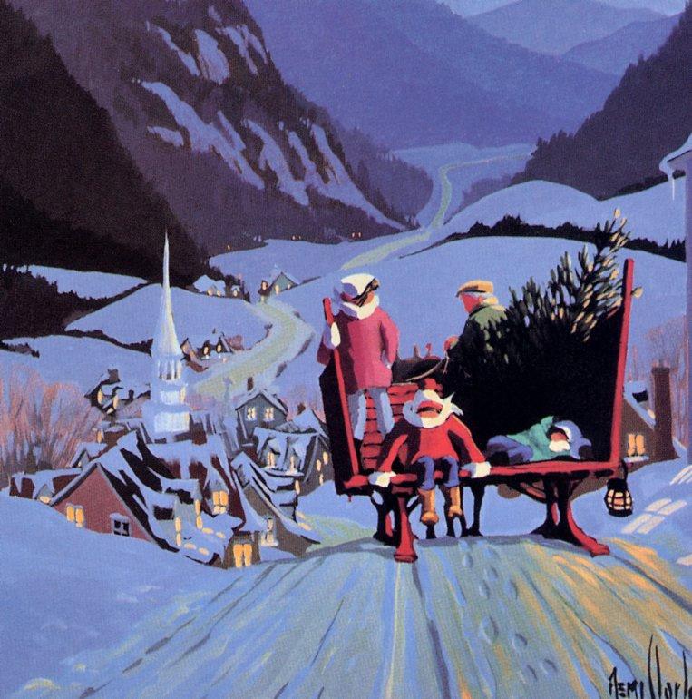 Реми Кларк. Зимняя поездка