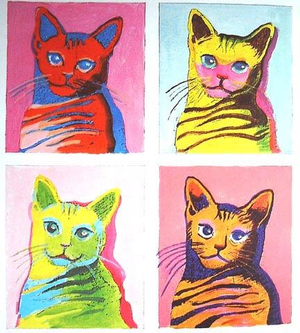 Энди Уорхол. Кот