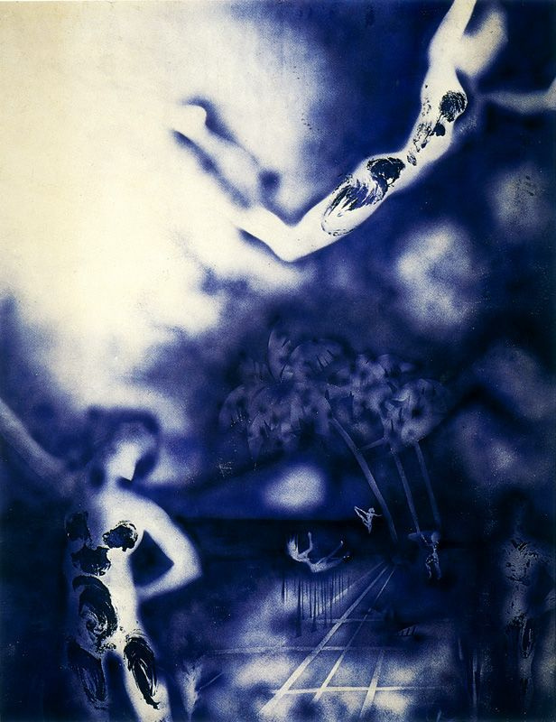 Yves Klein. Anthropometry 12