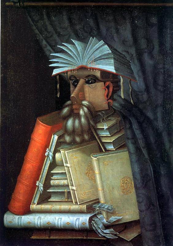 Джузеппе Арчимбольдо. Книги