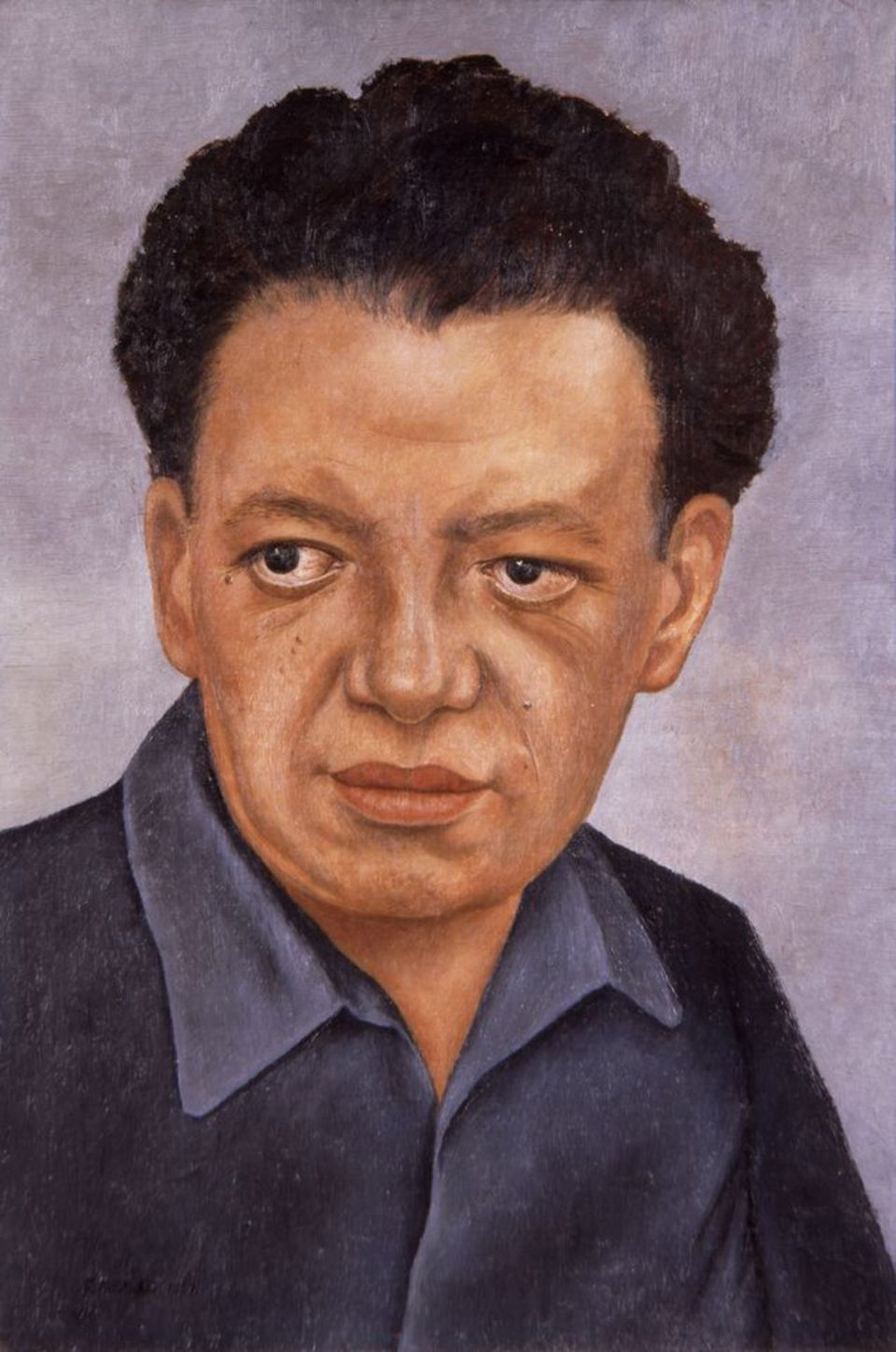 Frida Kahlo. Portrait Of Diego Rivera