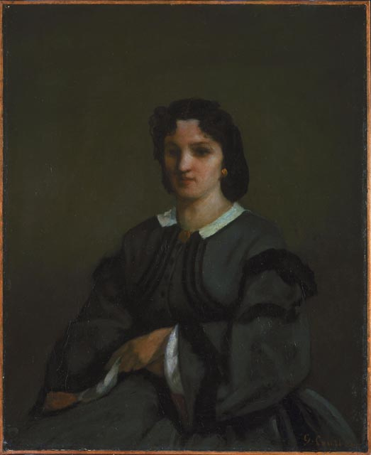 Гюстав Курбе. Женщина с перчатками