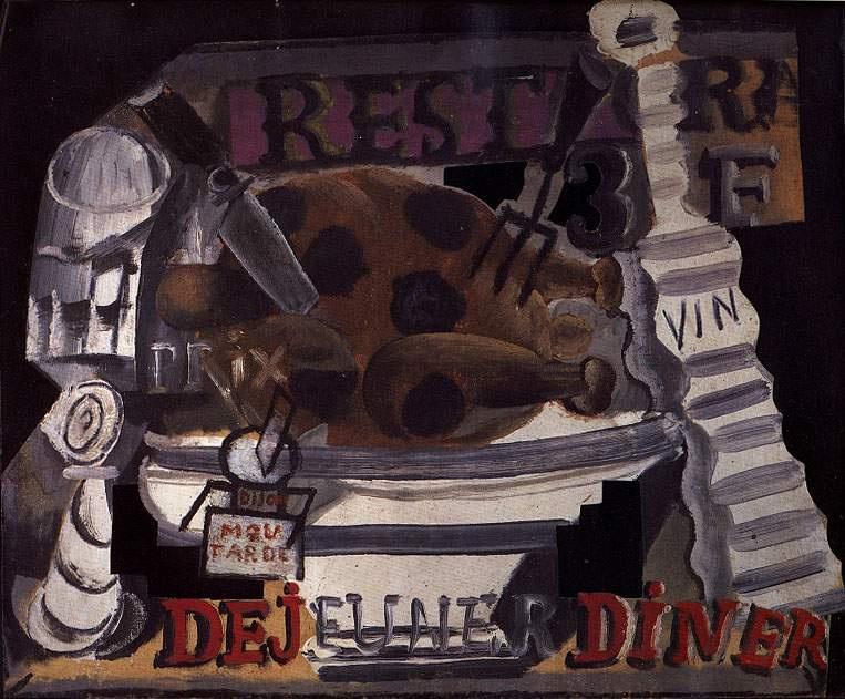 Пабло Пикассо. Ресторан: индейка с трюфелями и вином