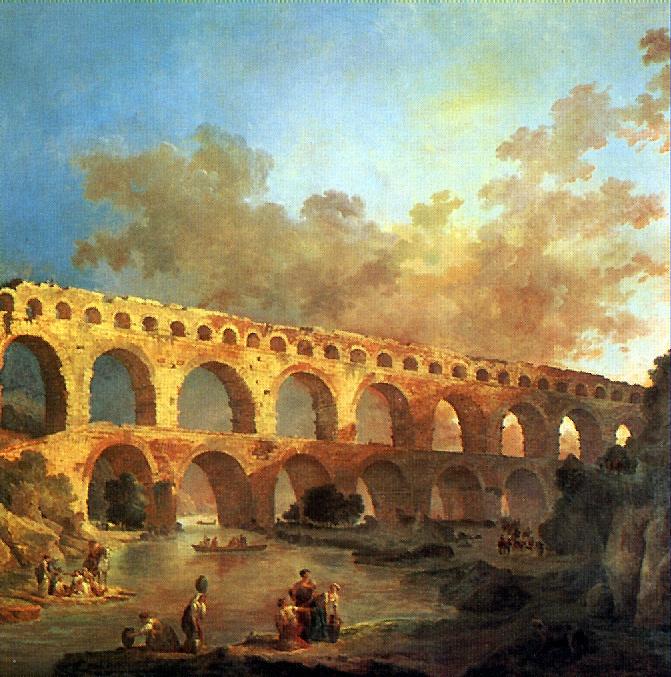 Hubert Robert. Pont-du-Gard