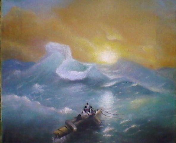 Mihran Mkrtumyan. The ninth wave