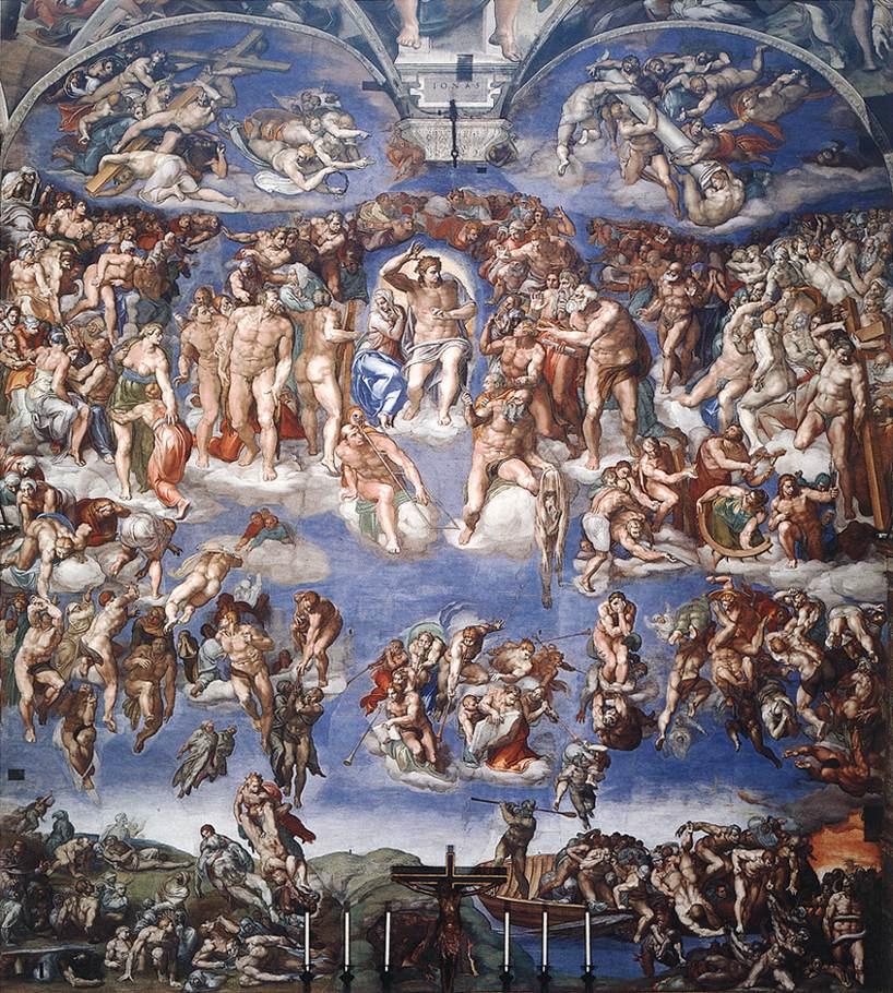Микеланджело Буонарроти. Страшный суд