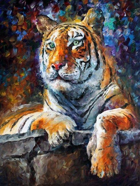 Leonid Afremov. Tiger