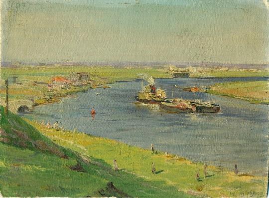 Mikhail Alexandrovich Kupriyanov. Oka river
