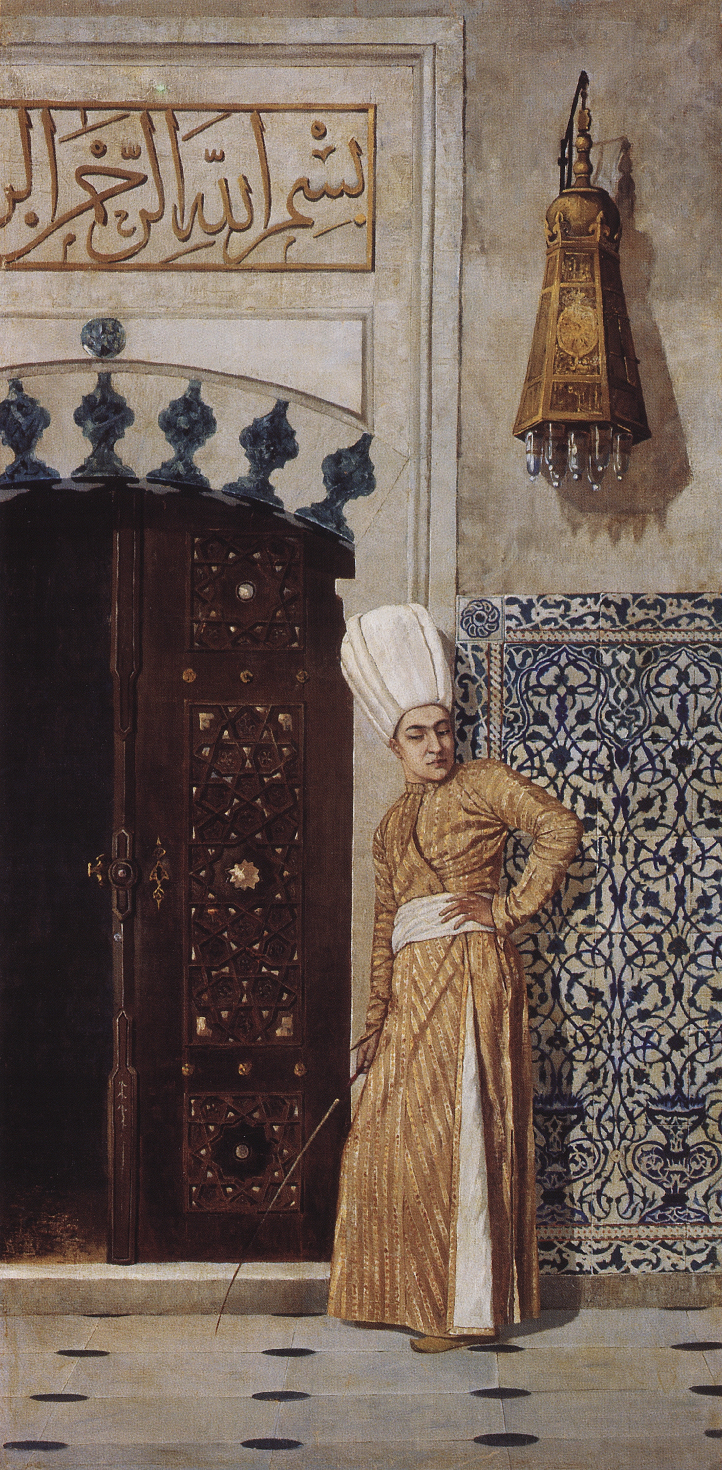 Vasily Vasilyevich Vereshchagin. The eunuch at the door of the harem