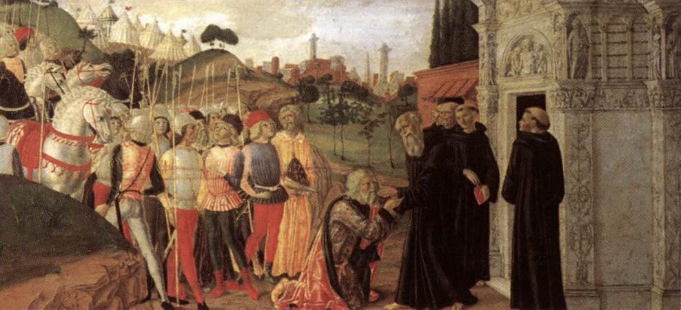 Нероккио Де Ланди. Святой Бенедикт