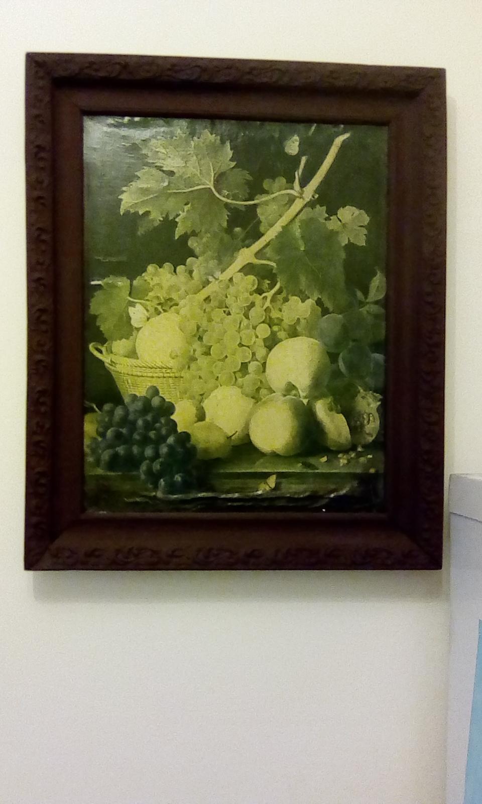 Jean Francois van Dahl. Fruit basket